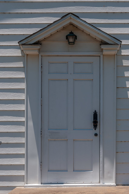 Old Texas Church Door