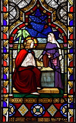 Christ and the Woman at the Well (O'Connor, 1850s)
