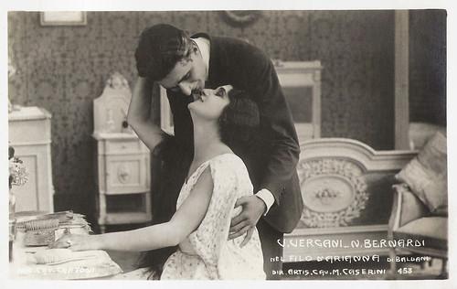 Vera Vergani and Nerio Bernardi in Il filo d'Arianna (1921)