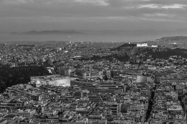 Athens – Night fall