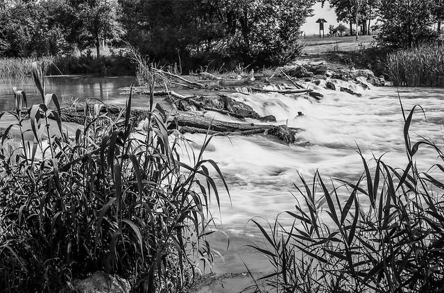 Río Tajo a su paso por Fuentidueña.
