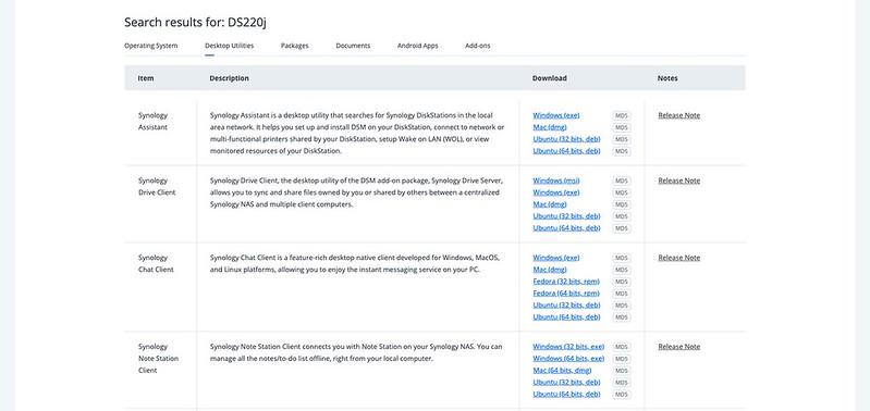 Synology DS220j - DSM - Setup Synology Drive Client #1