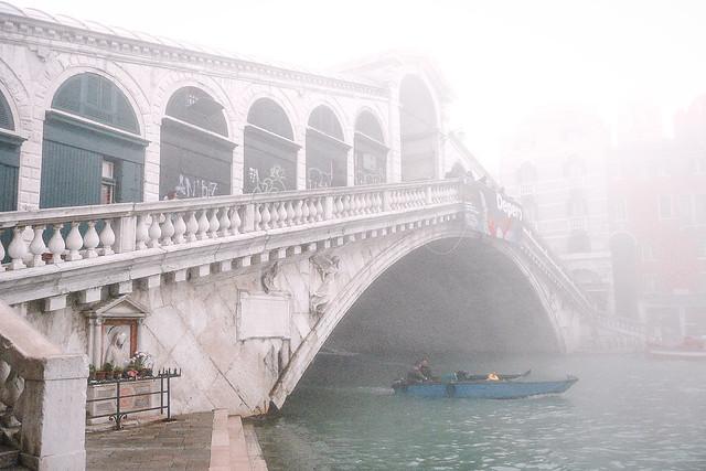 Fantôme du pont de pierre - Rialto, Venise