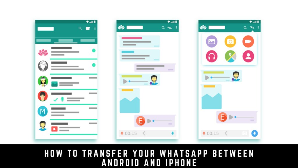 How to Transfer Your WhatsApp Between Android and iPhone