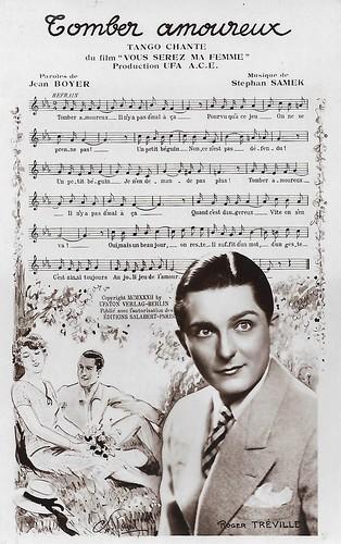 Roger Tréville in Vous serez ma femme (1932)