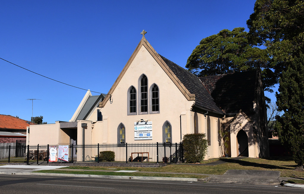 Point Church, Anglican Church, Concord, Sydney, NSW.