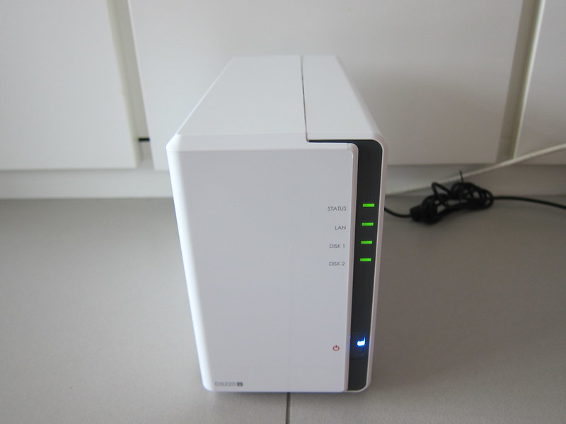 Using Synology Drive With Synology DiskStation DS220j