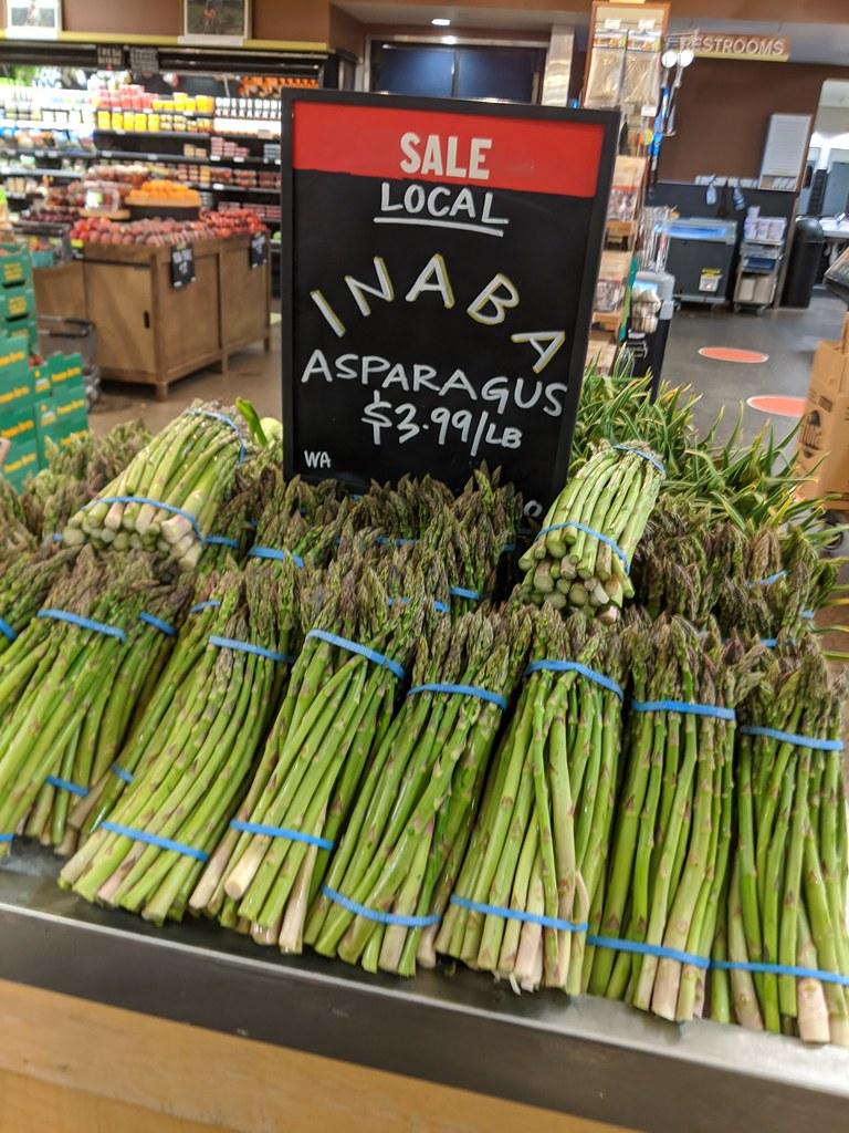Oregon asparagus