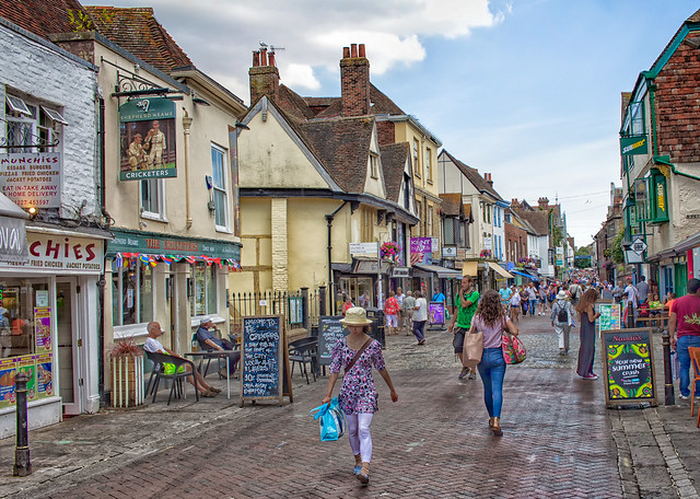 High Street, Canterbury, England