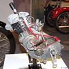 1954 NSU Quickly Motor Schnittmodel