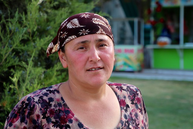 Femme de la vallée de Fergana