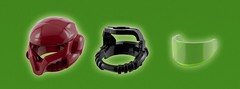 Samus Aran's Helmet - components