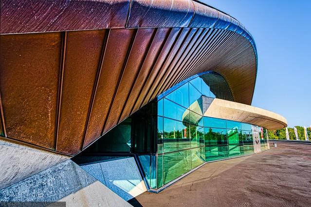 Kirchberg - D'Coque (Centre National Sportif et Culturel)
