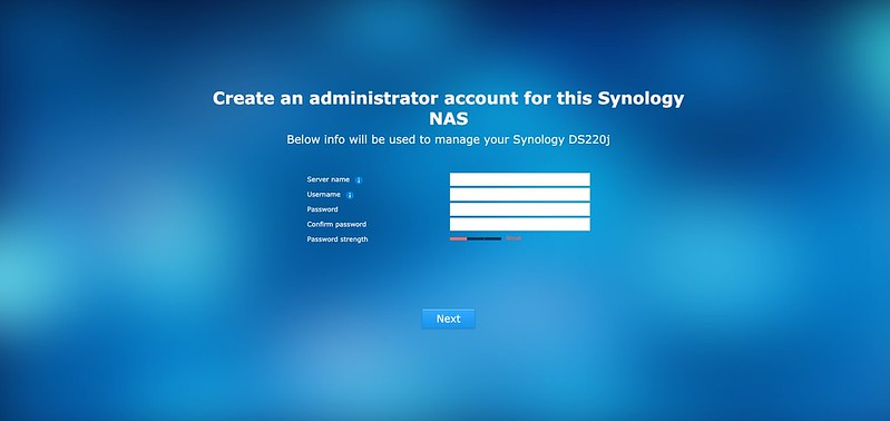 Synology DS220j - DSM - Setup #3