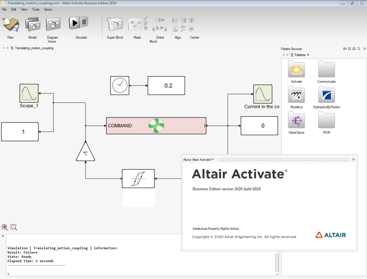 Working with Altair Activate 2020.0 build 6029 full license