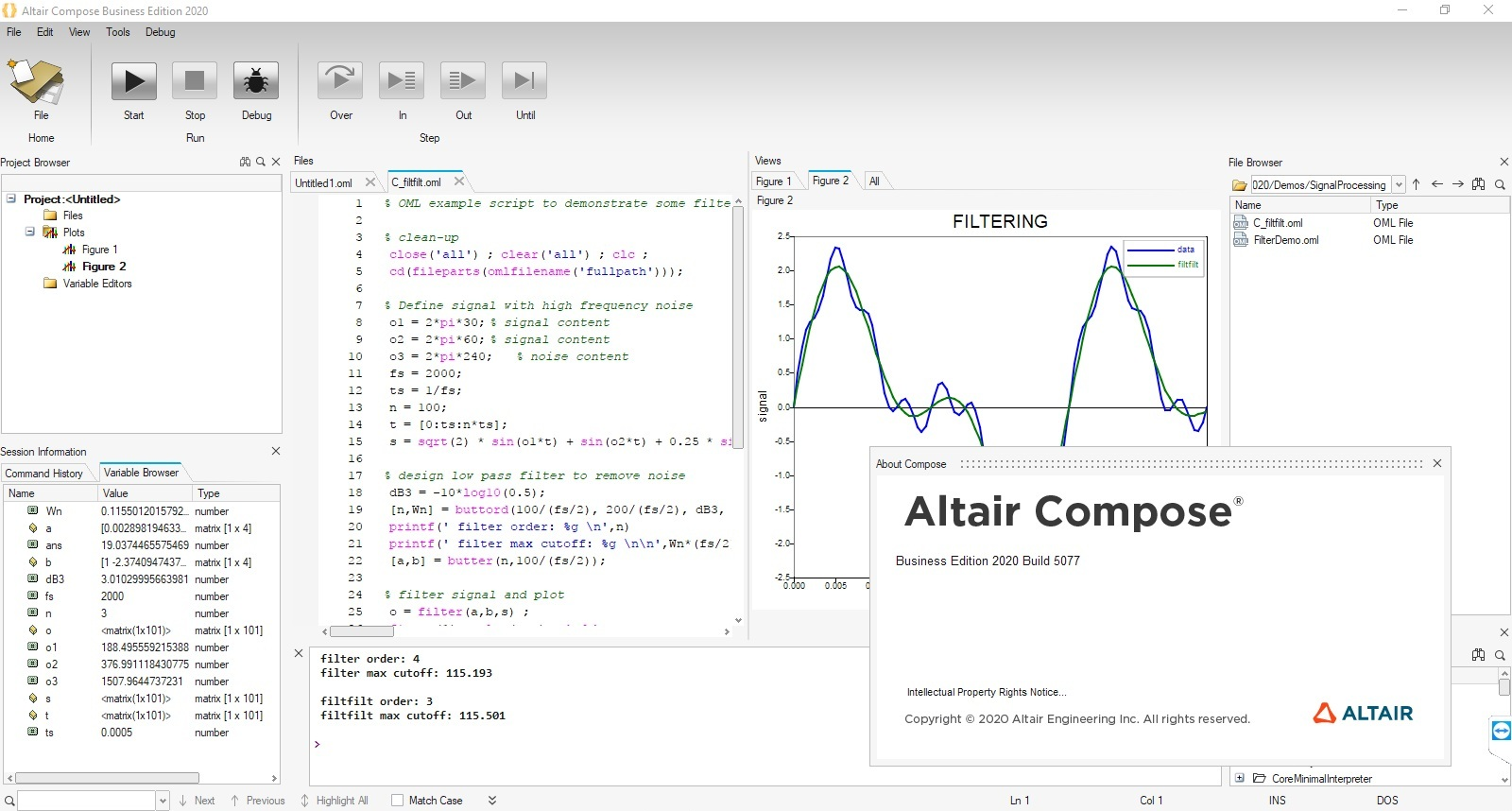 Working with Altair Compose 2020.0 build 5077 full license