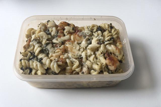 Chicken Alfredo Pasta Bake - Leftovers IV / Resteverbrauch IV