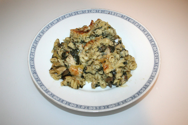 Chicken Alfredo Pasta Bake - Leftovers V / Resteverbrauch V