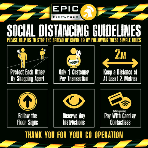 Let's Stay Safe; Please Keep Your Distance