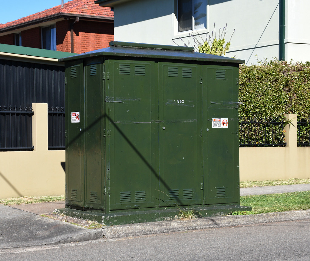 Electrical Substation, Campsie, Sydney, NSW.