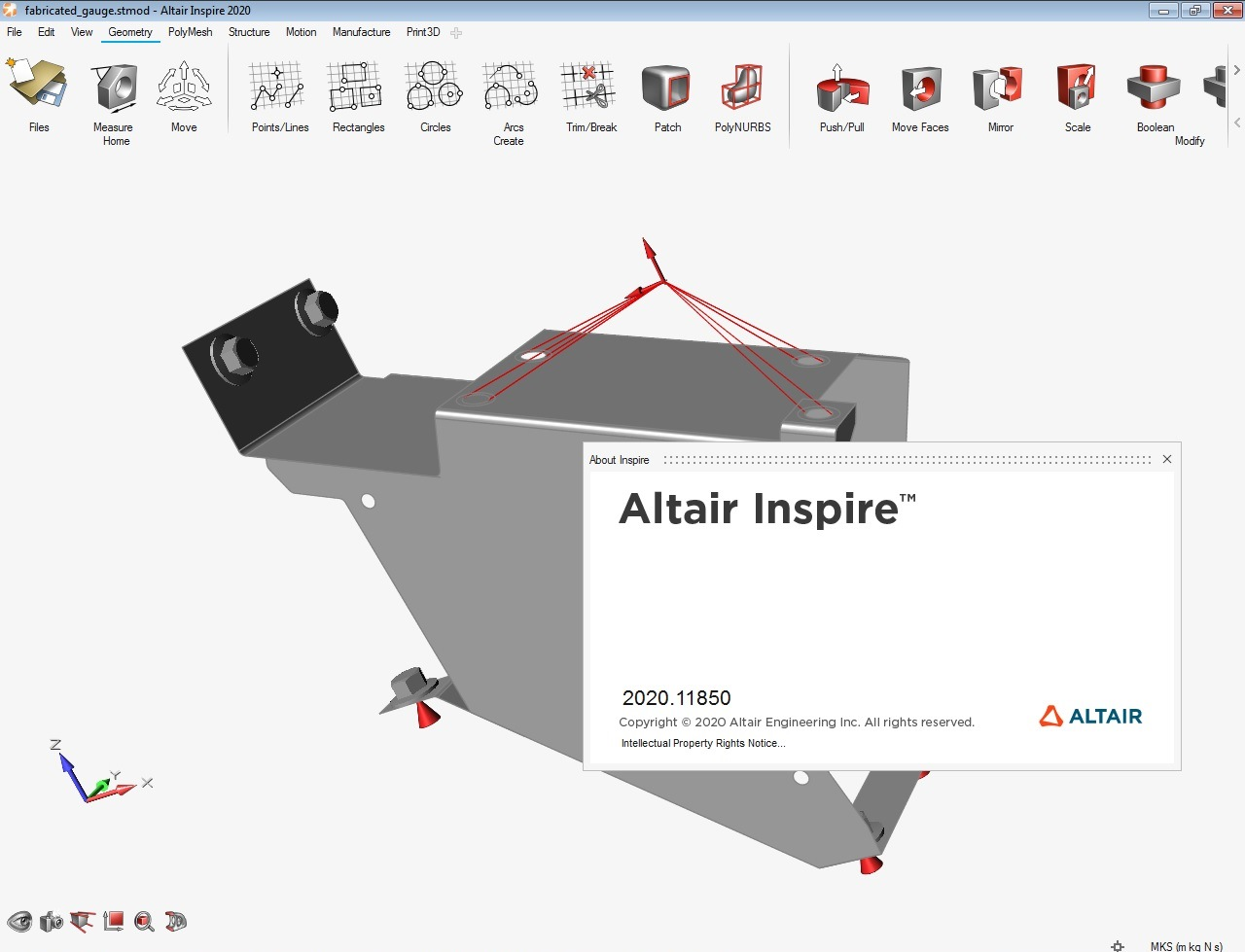 Working with Altair Inspire 2020.0 Build 11850 full license