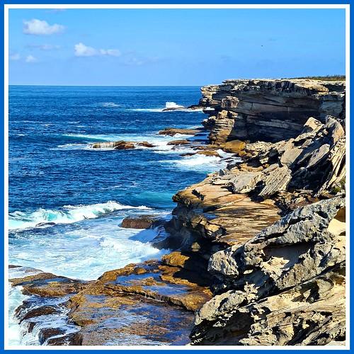 coast coastline cliff cliffs sea ocean seaside seascape capesolander kamaybotanybaynationalpark nationalpark kurnell