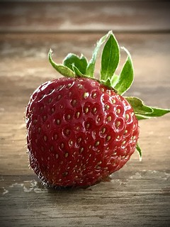 Strawberry for breakfast ;-)