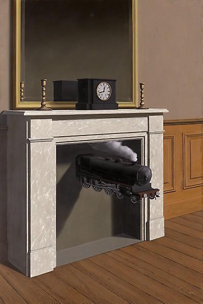 René Magritte, Time transfixed - La durée poignardée