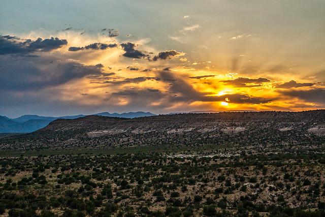 DSC02901-E - Verde Valley Sunset