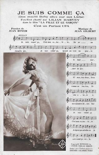 Lilian Harvey in La fille et le garcon (1932)