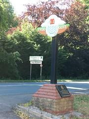 Tydd Gote Village sign