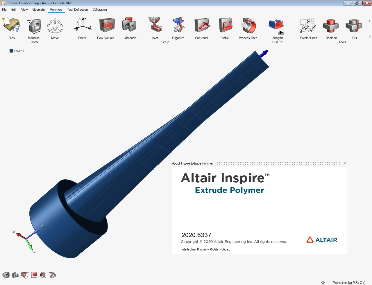 Working with Altair Inspire Extrude Polymer 2020.0 Build 6337 full license