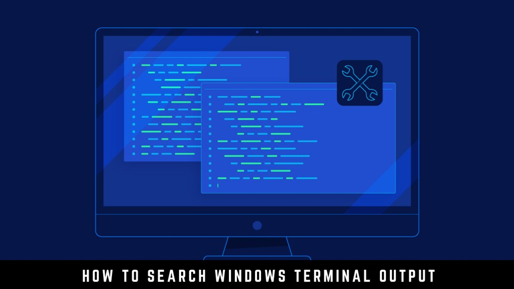 How to Search Windows Terminal Output