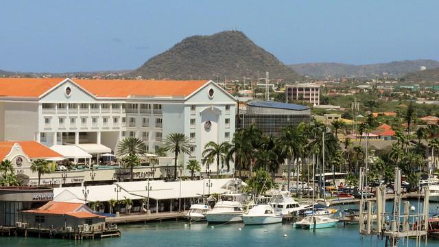 Aruba - Oranjestad and Hooiberg