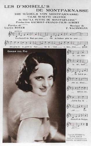 Grazia Del Rio in La petite de Montparnasse (1932)