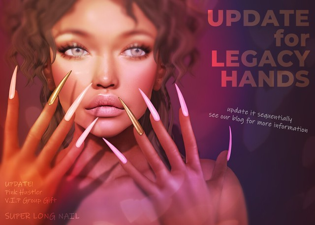 ♥ GIFT for Legacy hands ♥