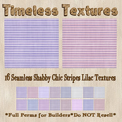 TT 16 Seamless Shabby Chic Stripes Lilac Timeless Textures