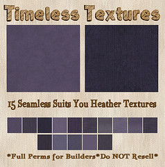 TT 15 Seamless Suits You Heather Timeless Textures