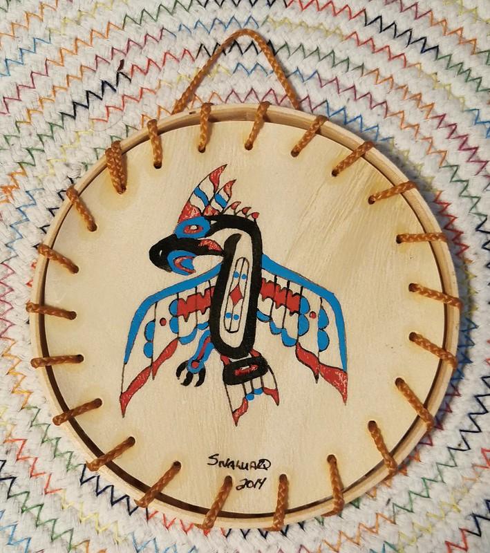 Sivaluaq Eagle Drum