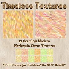 TT 12 Seamless Modern Harlequin Citrus Timeless Textures