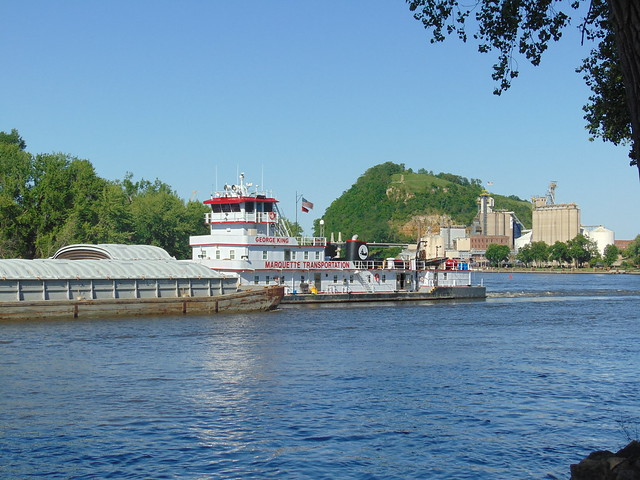 The George King towboat
