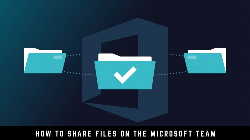 How to share files on the Microsoft Team