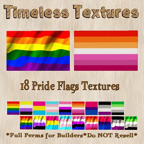 TT 18 Pride Flags Timeless Textures
