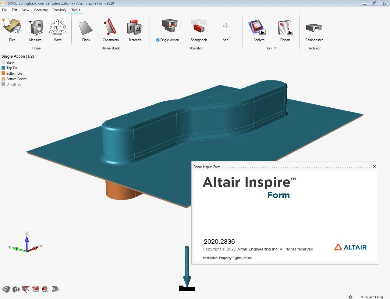 Working with Altair Inspire Form 2020.0 Build 2836 full license
