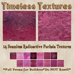 TT 14 Seamless Radioactive Fuchsia Timeless Textures