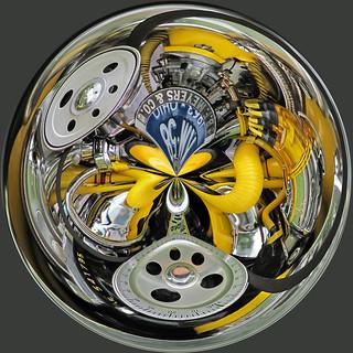VW Motor Globe