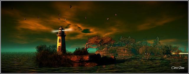 Lighthouse at Whimberly I