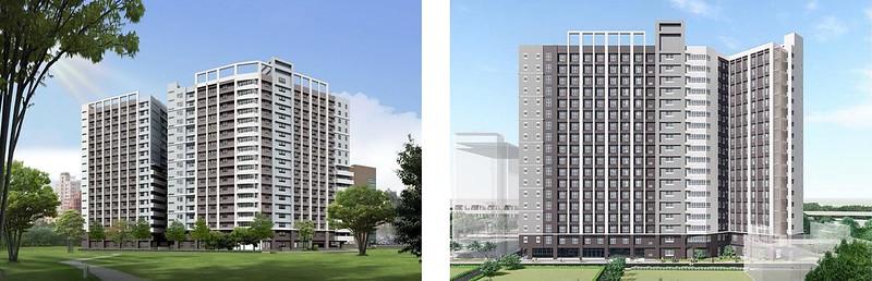 公館校區學生宿舍大樓3D圖。圖/取自師大公共事務中心