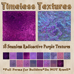 TT 18 Seamless Radioactive Purple Timeless Textures