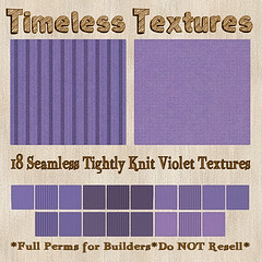 TT 18 Seamless Tightly Knit Violet Timeless Textures